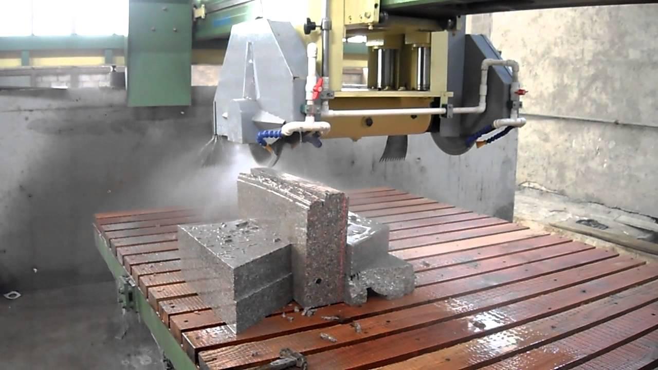 cnc bridge stone saw and stone cutting machine youtube. Black Bedroom Furniture Sets. Home Design Ideas