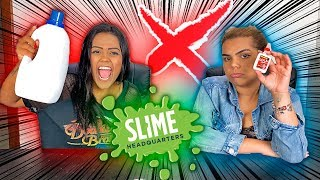 SLIME PEQUENA X SLIME GRANDE !!!