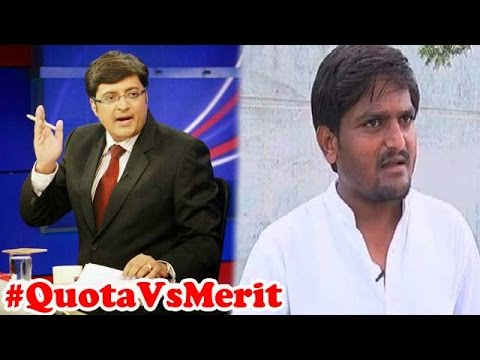 Should There Be Quota For General Category People ? | The News Hour Debate (31st August 2015)