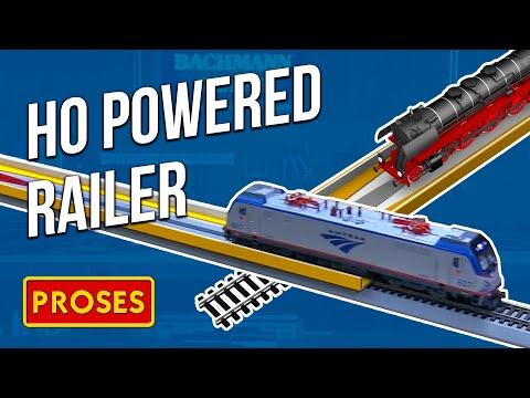 39025 HO Powered Railer