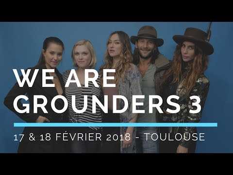 We Are Grounders 3  Convention