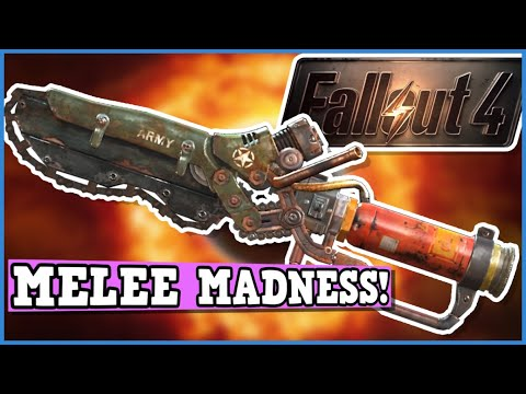 FALLOUT 4 A Perfectly Balanced Game With No Exploits - Can You Beat Fallout 4 Melee Only Challenge