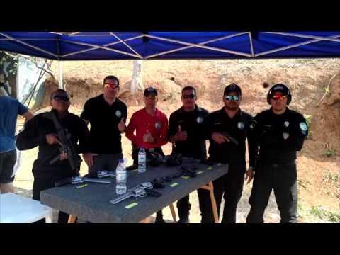 Teste do Revólver 454 Casull no Evento da Taurus