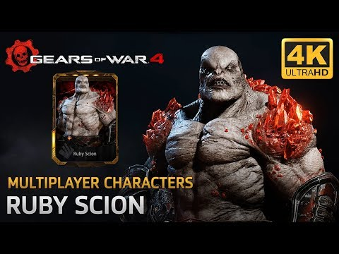 Gears of War 4 - Multiplayer Characters: Ruby Scion