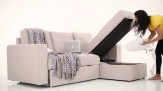 Kowloon Sectional Sofa Bed