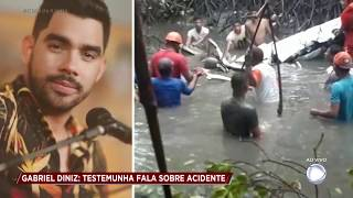 Baixar Testemunha fala dos momentos que antecederam queda do avião de Gabriel Diniz