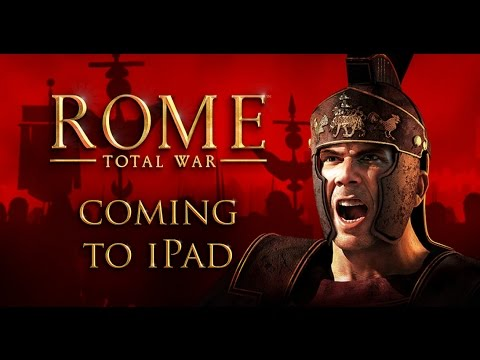 ROME TOTAL WAR IPAD iOS Gameplay Video