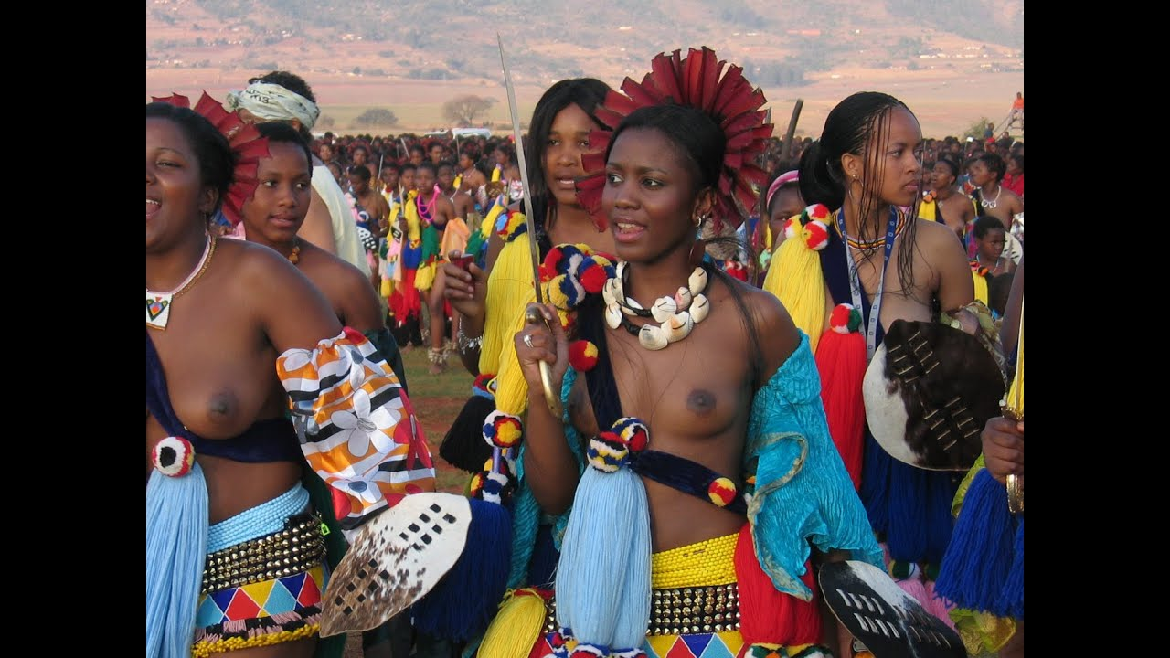 porn in Swazi woman dam