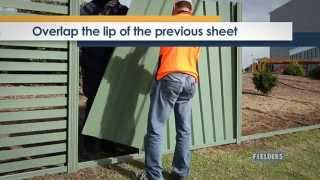 Fielders Diy Installation Guide - Tl5 Panel Fence