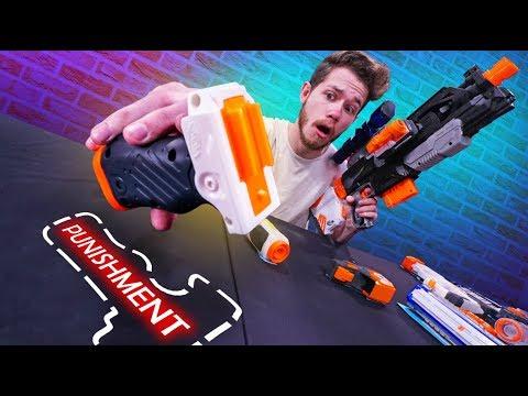 Nerf Stash Your Cash Roulette Challenge Doovi