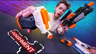 NERF Mystery Build Your Weapon Challenge!