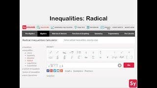 Inequalities Practice  Symbolab