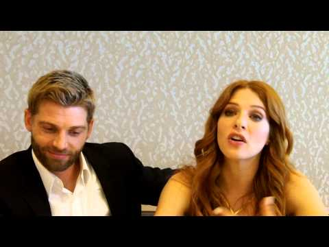 """Under the Dome"" - Mike Vogel and Rachelle Lefevre"