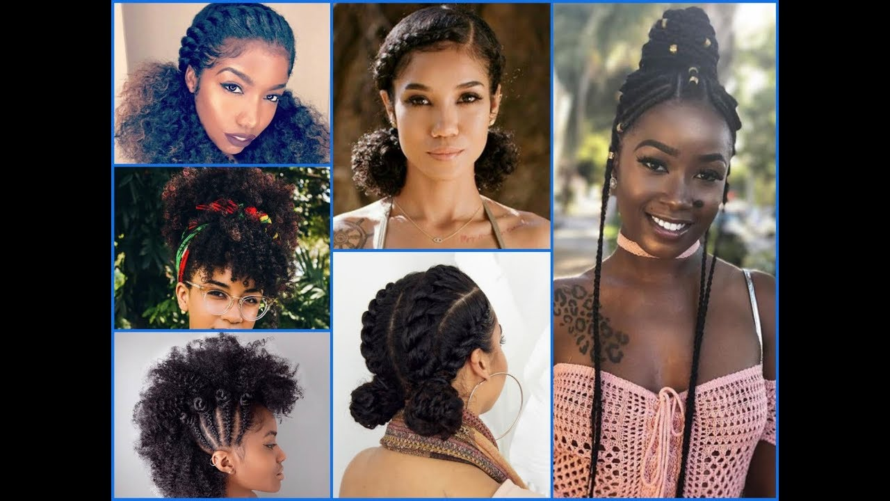 20+ Cute Summer Hairstyles Ideas For Womens With Natural Hair - YouTube