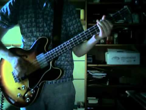 Here comes my baby - The Tremeloes (bass cover)