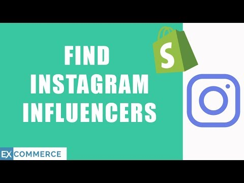HOW TO FIND AND SOURCE INSTAGRAM INFLUENCERS FOR DROP SHIPPING ON SHOPIFY thumbnail