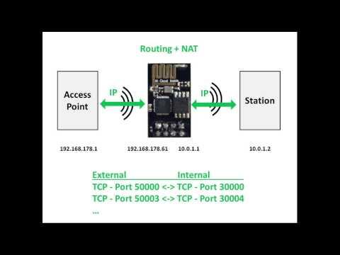 projects] - Espressif ESP8266 AP/Mesh Wifi Repeater/AP