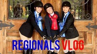 REGIONALS VLOG | University of Arizona Hunt Seat IHSA Team | Horse Show Vlog | Zone 8 Region 2