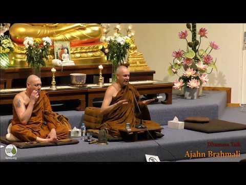 Dhamma Talk   Ajahn Brahmali   19 January 2018