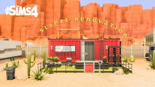 SLIP 42 Renovation - The Sims 4 speed build (no cc)