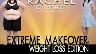 Extreme makeover - people who did not give up + Diet instruction (transformation)
