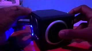 Mini Stereo Speaker Boombox Sound Box Music Player Remote Control ( සිංහලෙන් රීවීව්ස්)