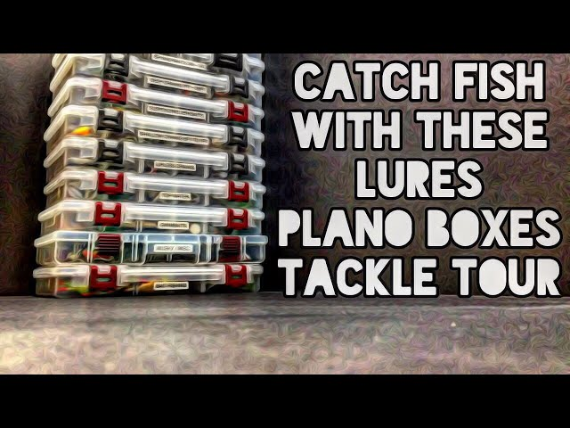 Catch Fish With These Lures Plano Boxes Tackle Tour