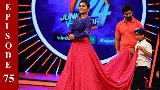 D4 Junior Vs Senior I Ep 75 - Captain's magic on the floor I Mazhavil Manorama