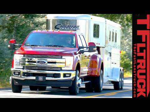 2017 Ford Super Duty F 350 Everything You Ever Wanted To Know With Towing Review