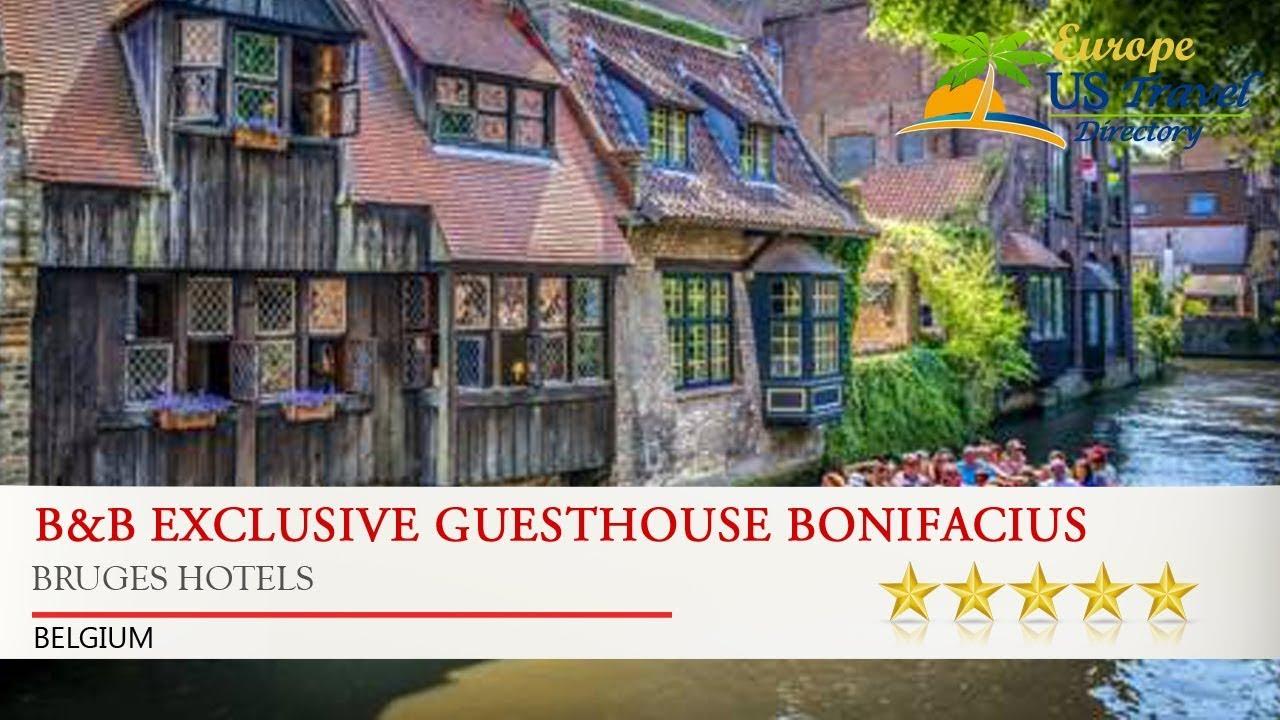 B Exclusive Guesthouse Bonifacius Bruges Hotels Belgium