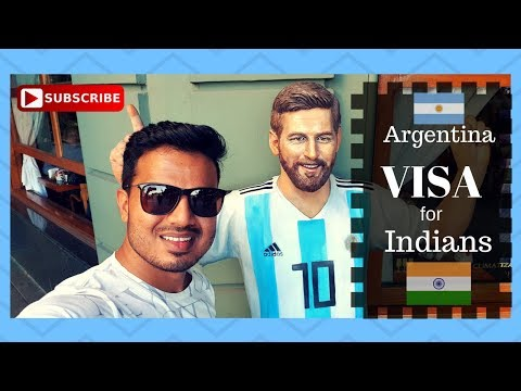 Argentina Visa for Indian II Indian traveling to Argentina.