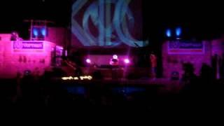 The Scumfrog playing at the Atrium Dancefloor @ KaZantip 2009