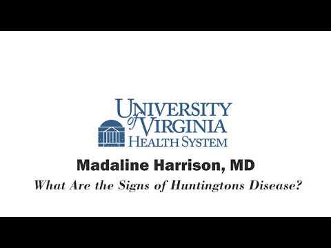 What Are The Signs Of Huntington's Disease?