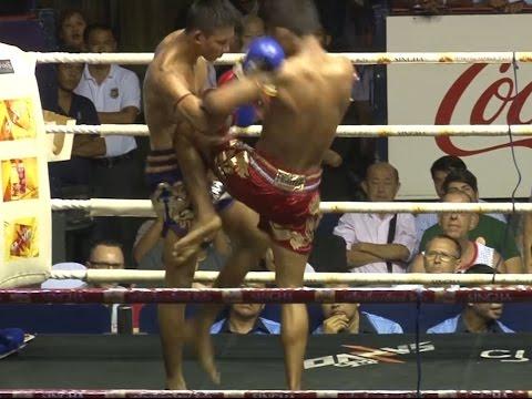 Muay Thai Fight - Superlek vs Bangpleenoi, Rajadamnern Stadium Bangkok - 9th November 2015