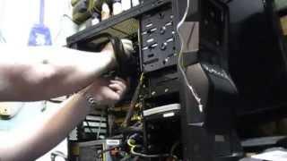amd fx 8320 budget pc upgrade corsair h60 cpu cooler install part 5 of 7