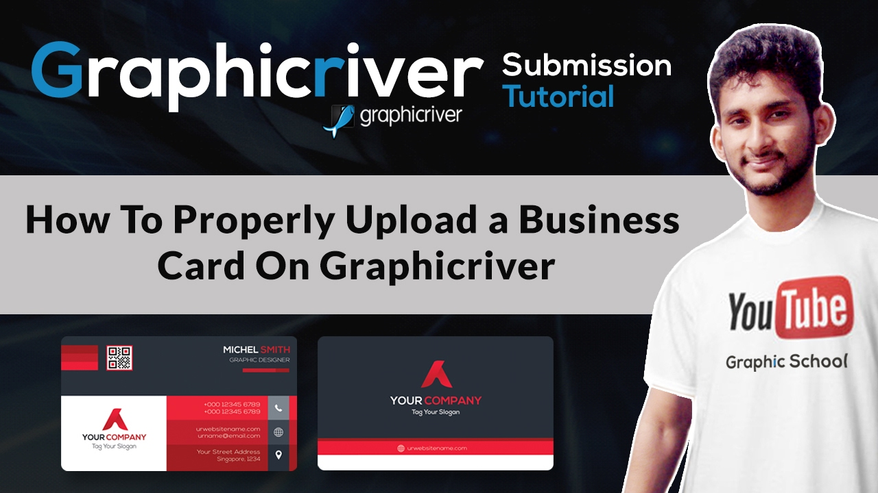 How To Properly Upload a Business Card On Graphicriver ...