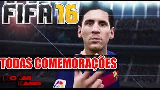FIFA 16 - TUTORIAL TODAS COMEMORAÇÕES / ALL CELEBRATIONS (XBOX/PLAYSTATION)