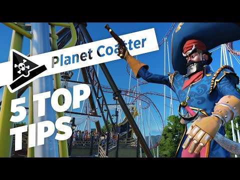 5 TOP TIPS for Planet Coaster! Tips and Tricks for the Planet Coaster Alpha