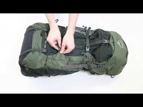 Osprey Europe - Aether Backpacking Pack - Pack Features