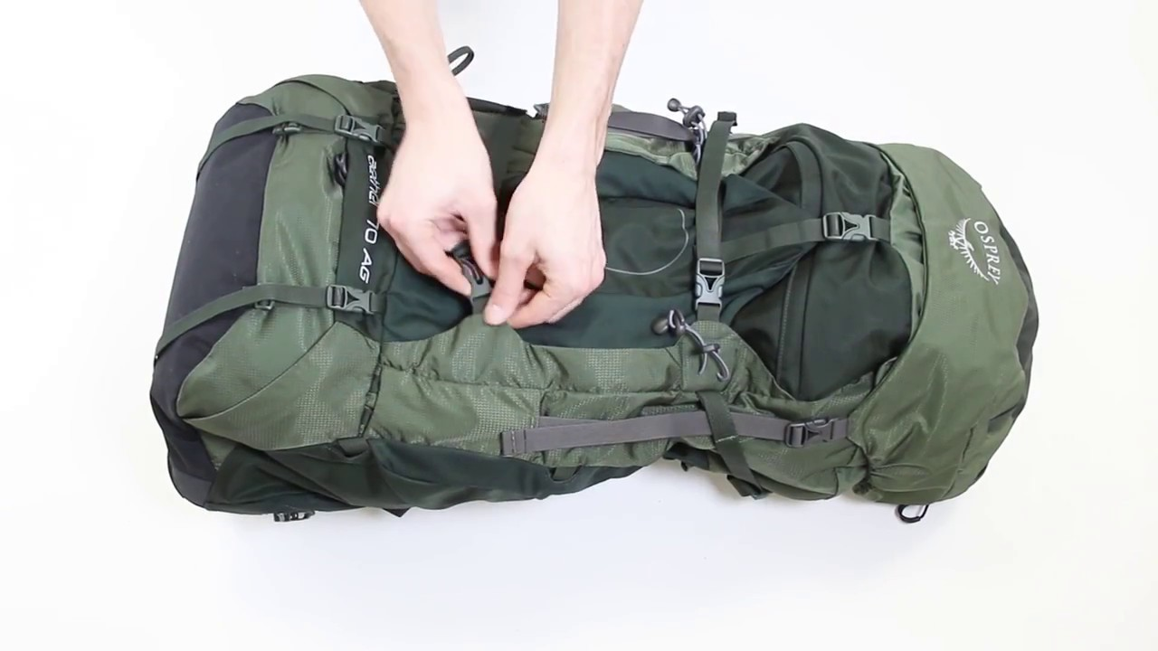 6ffab7cf06 Osprey Europe - Aether Backpacking Pack - Pack Features - YouTube
