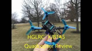 """HGLRC XJB 145 - 3"""" Quadcopter Review"""