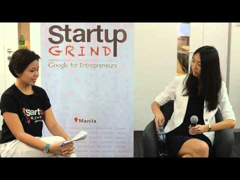 Jessica Mah (Indinero) at Startup Grind Manila