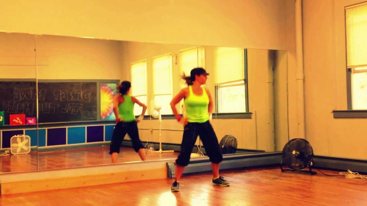 In The Summertime Zumba Routine