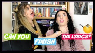 Μπορείς να τελειώσεις τους στίχους?? || fraoules22