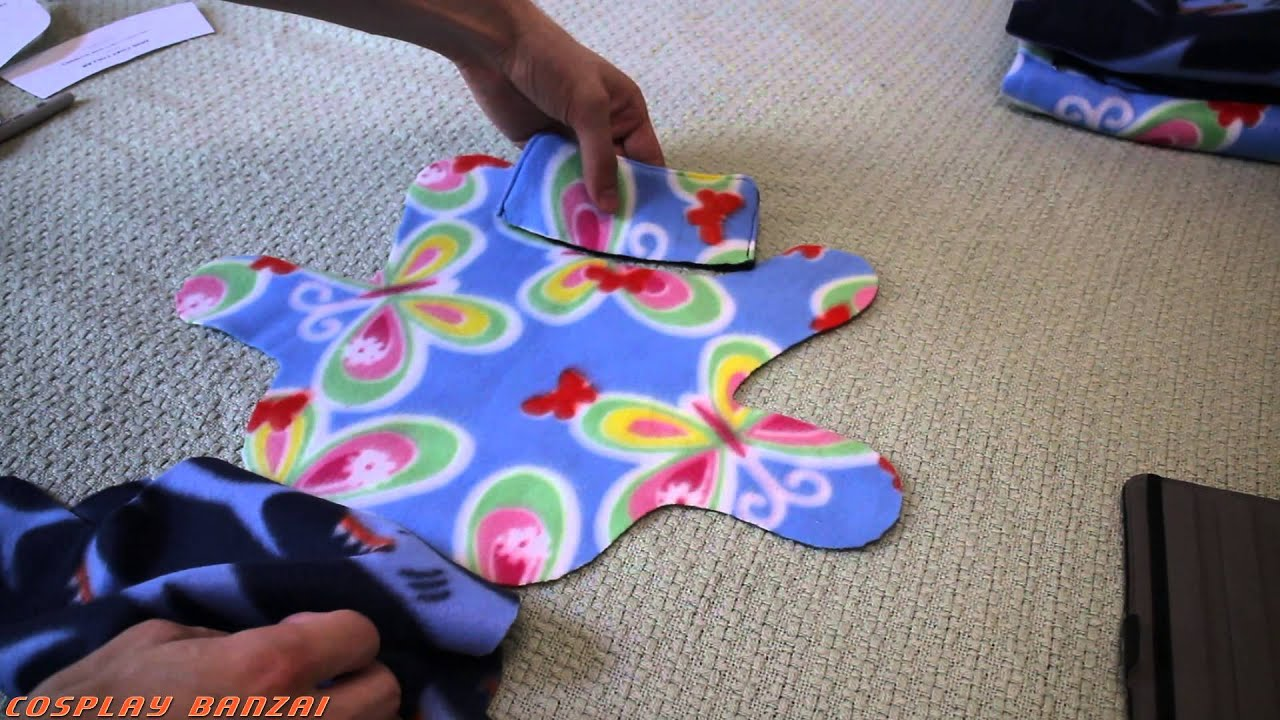 Sewing a Fleece Dog Coat - YouTube