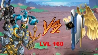 Monster legends - Uriel boss final level - 160