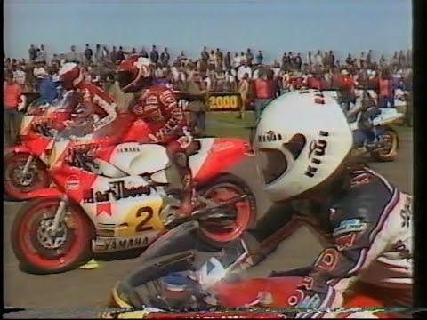 MotoGP 500cc GP - Transatlantic Challenge - Donington Park - Race 5 - Barry Sheene - April 1984.