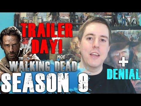 The Walking Dead Season 9 Trailer Today & Rick Leaving Denial!