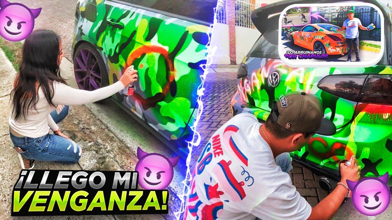 DESTRUIMOS EL GTI DE OSWY POR RAYARME MI 350z !   GUS LOPEZ  