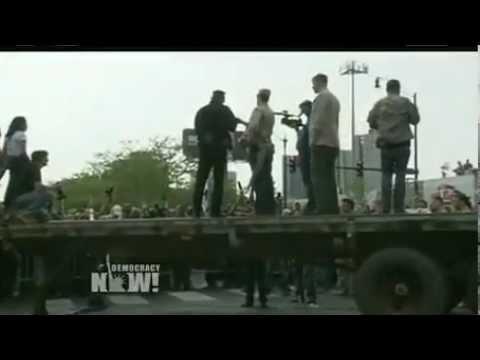 War Veterans Throw Medals at NATO Summit!